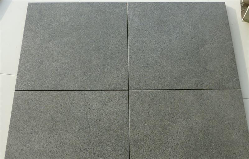 Promoties vloertegel natural 45 45 kleur black en grey gedimat bouwmaterialen - Imitatie cement tegels ...